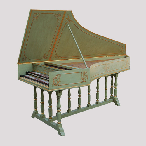 Flemish Harpsichord After J. D. Dulken, 1755