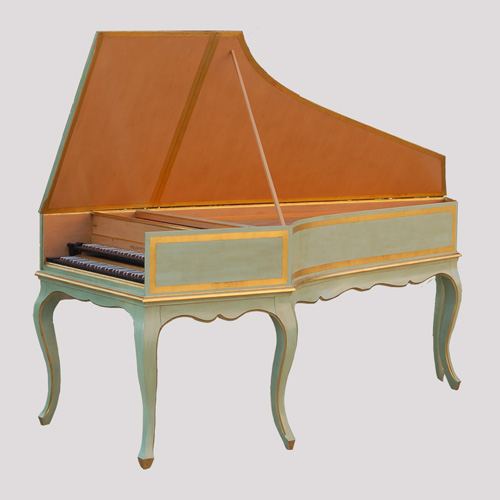 French Harpsichord – Faithful Copy After P. Taskin, 1769