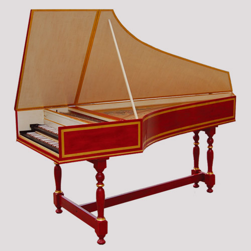 French Harpsichord After P. Taskin (smaller Size)
