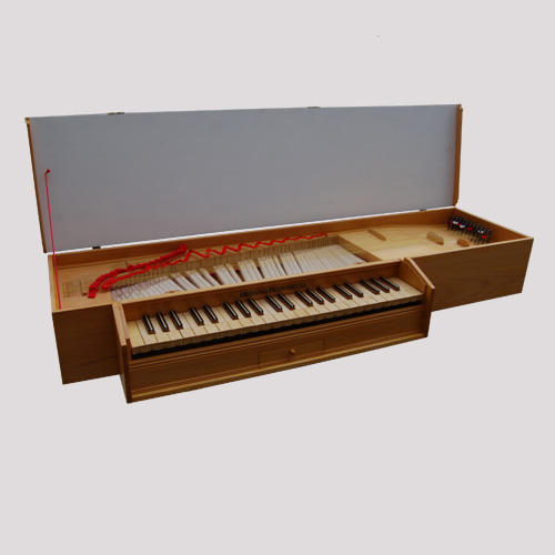 Fretted Clavichord After O. Tosi – Genoa, 1568
